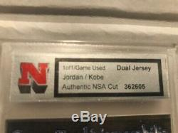 Kobe Bryant Game Used Jersey And Michael Jordan Game Used Jersey- Real 1 Of 1
