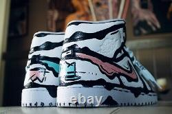Nike Air Jordan 1 Cotton Candy Custom (made To Order) (all Sizes) Off-white