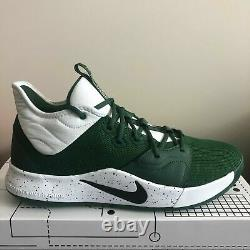 Nike PG 3 TB Green White Low Paul George Basketball Shoes CN9513-302 Size 9.5