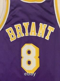 Vintage Kobe Bryant LA Lakers ROOKIE YEAR 90s Champion NBA Jersey Los Angeles 44
